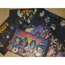 Kiss Tapetes Decorativos Mod Love Gun,unmasked,solistas,kiss