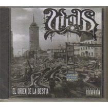 Virus - El Orden De La B... ( Hip Hop Rap Mexicano ) Cd Rock