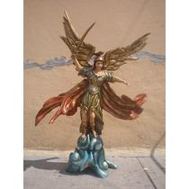 Arcangel San Miguel Policromado