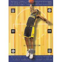 1999-00 Upper Deck Rookie Watch Al Harrington Pacers