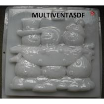 Molde Jumbo Para Gelatina ** Figura Muñecos De Nieve **