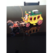 Playmobil Diligencia Amarilla Del Viejo Oeste