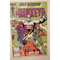 Solo Avengers #15 Marvel Comics 1989 Hawkeye & Black Widow