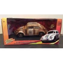 1953 Vw Beetle Herbie Fully Loaded 1/18
