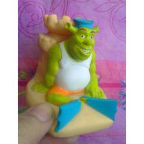 Ricolino Figura De Shrek En La Arena Para Hechar Cosas