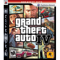 Juego Grand Theft Auto 4 Para Ps3 Nuevo Original Blakhelmet