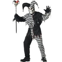 Oferta Unica! Disfraz De Payaso Arlequin Joker Para Adultos