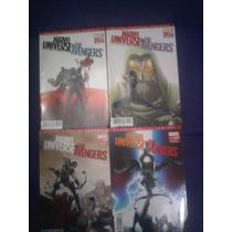 Marvel Universe Vs Avengers Lote De 4 En Español Televisa