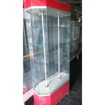 Aparadores, Exhibidores Y Vitrinas Mostradores De Cristal