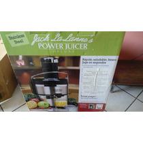Extractor De Jugos Marca Power Juice Deluxe