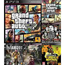 Gta V + San Andreas Sleeping Dogs Infamous Silent Hill Y Mas