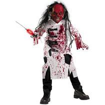 Disfraz De Doctor Zombie Para Niños, Envio Gratis