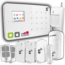 Alarma Digital Smart Lcd Pro Gsm Inalambrica Casa Negocio