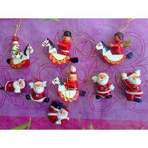 Figuras Miniaturas Navideñas Para Colgar
