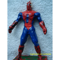 Vela Para Pastel De Spiderman (hombre Araña)