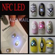 1 Chip Luz Led Para Uñas Flash Accesorios Acrílico Gel Nfc