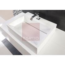 Esatto - Ovalín Lavabo De Ceramica Blanca Importado A201 Fn4