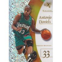 1997-98 E-x2001 Rookie Antonio Daniels Grizzlies