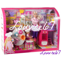 Barbie Y Kelly I Can Be Sweet Chef Puedo Ser Repostera