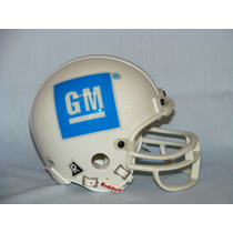 Mini Casco Nfl Riddell Logotipo General Motors / Hm4