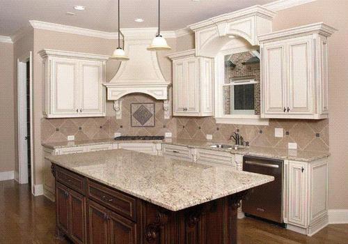 Granito claro para cocina materiales de construcci n - Nuevos materiales para encimeras de cocina ...