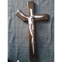 Cristo,cruz Dali En Pewter Aluminio Artesanal Regalo Adorno
