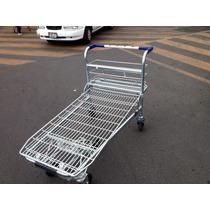 Carritos De Supermercado Tipo Plataforma Sam