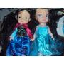 Muñecas Frozen Princesas Disney Anna Y Elsa $110 Mayoreo.