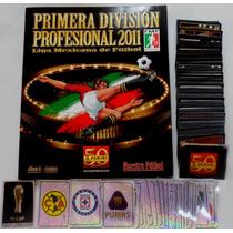 Panini Estampas Sueltas Primera Division Profesional 2011