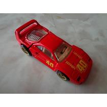 Ferrari F40 Hot Wheels 1991 Gold Medal Speed # 69 Esc 1:64