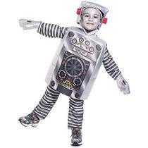 Niño Robot Traje De Niño (tamaño: 2-4t)
