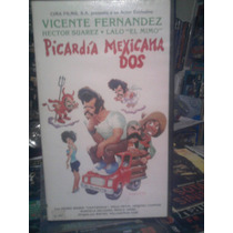 Vhs Picardia Mexicana 2 Video Visa Drama Mexicana Comedia