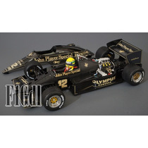 F1 Ayrton Senna Lotus Renault 97t 1985 John Player Special