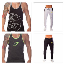 Ropa Gym Tanks Pants Playeras Olímpicas Golds Gym, Animal