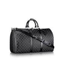 Maleta Louis Vuitton Keepall Graphite,monogram, 45 Bandolera