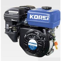 Motor A Gasolina C/cuña Hyundai 6.7 Hp A/retractil Ecomaqmx