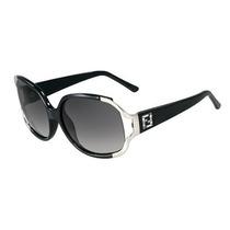 Gafas Sunglass De La Mujer Fendi, Negro, Un Tamaño