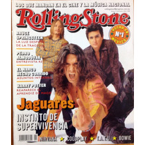 Rolling Stone Mexico #1 Coleccionistas Jaguares Cafe Tacuba