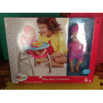Little Mommy Bebita Silla Alta , Periquera ,muñeca