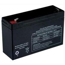 Bateria Recargable D Acido Plomo Sellada 6 Volts12 Ampers