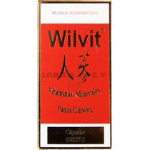 Cápsulas Wilvit - Vitaminas, Minerales, Panax Ginserg