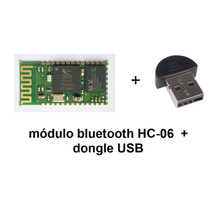 Módulo Bluetooth Hc-06 + Adaptador Usb Dongle Para Pc