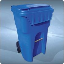 Contenedor De Plástico Para Basura De 260 Litros