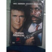 Dvd Arma Mortal 2 Mel Gibson Danny Globber Acción Subtitulad