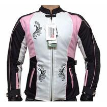 Chamarra Mondo Di Biker Impermeable Con Protecciones