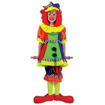 Disfraz De Payasa, Payasita, Payaso De Circo Para Niñas