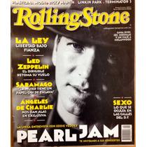 Pearl Jam En La Revista Rolling Stone Mexico Excelente Estad