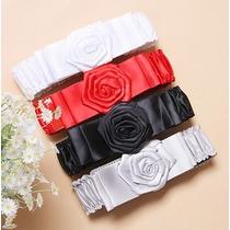 Cinturón Diseño De Rosa Ropaccesorios
