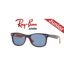 Lentes Ray Ban Junior Orange Blue Rj9052s 178/80