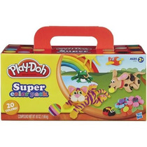 Plastilina Play-doh Super Color Paquete Con 20